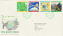 1992-09-15 Green Issue Torridon FDC (50824)