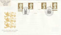 1997-04-21 Gold Definitive from Sheets Doubled FDC (50837)