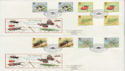 1985-03-12 Insects Gutter Pairs London SW7 x2 FDC (50857)