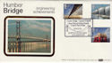 1983-05-25 Engineering Humber Bridge Benham FDC (50885)