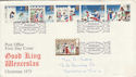 1973-11-28 Christmas Stamps Bethlehem FDC (50919)