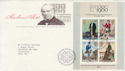 1979-10-24 Rowland Hill M/Sheet London EC FDC (50920)