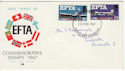 1967-02-20 EFTA Newcastle Upon Tyne FDC (50932)