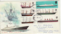 1969-01-15 British Ships Newcastle Upon Tyne FDC (50935)