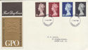 1969-03-05 Definitive High Values Windsor FDC (50954)