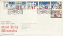 1973-11-28 Christmas Stamps Bethlehem FDC (50981)