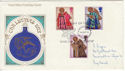 1972-10-18 Christmas Stamps Bethlehem FDC (50985)