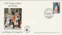 1980-08-04 Queen Mother Walmer Castle Deal FDC (51037)