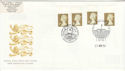 1997-04-21 Gold Definitive Doubled London FDC (51043)