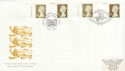 1997-11-13 Golden Wedding Definitive Doubled Souv (51047)