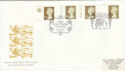 1997-07-08 Golden Wedding Definitive Doubled Souv (51053)