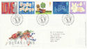 2002-03-05 Occasions Stamps Tallents House FDC (51101)