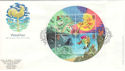 2001-03-13 Weather Stamps M/S Reading FDC (51125)