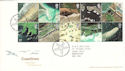 2002-03-19 Coastlines Stamps T/House FDC (51204)