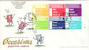 2003-02-04 Occasions Cylinder Margin Pabay FDC (51219)