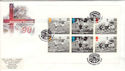 1996-05-14 Football PSB Full Pane Wembley FDC (51226)