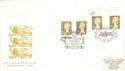 1997-11-13 Golden Wedding Definitive Doubled Souv (51249)