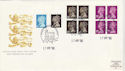 1990-04-17 Machin Booklet Stamps Combo Windsor FDC (51299)