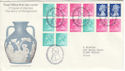 1972-05-24 Wedgwood Booklet Panes Barlaston FDC (51311)
