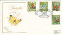 1981-05-13 Butterflies Leicester Cotswold FDC (51312)