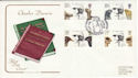 1982-02-10 Charles Darwin Cambridge FDC (51330)