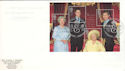 2000-08-04 Queen Mother M/S Windsor Castle FDC (51383)