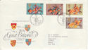 1974-07-10 Medieval Warriors Bureau FDC (51397)