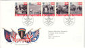 1994-06-06 D-Day Stamps Bureau FDC (51439)