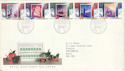 1988-11-15 Christmas Stamps Bethlehem FDC (51460)