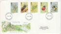 1985-03-12 Insects Stamps Medway FDI (51464)