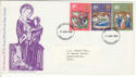 1970-11-25 Christmas Stamps Edinburgh FDI (51470)