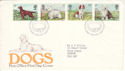 1979-02-07 Dogs Stamps Bureau FDC (51479)