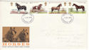1978-07-05 Horses Stamps Plymouth FDI (51480)