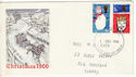 1966-12-01 Christmas Stamps London FDI (51532)