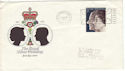 1972-11-20 Silver Wedding Liverpool Slogan FDC (51564)