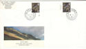 1999-06-08 Scotland Definitive Doubled Glasgow 2 FDC (51623)