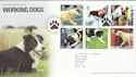 2008-02-05 Working Dogs Stamps T/House FDC (51658)