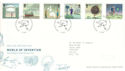 2007-03-01 World of Invention T/House FDC (51664)