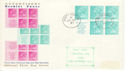 1971-12-24 Advertises Booklet Pane Southampton cds FDC (51696)