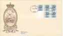 1974-10-09 45p Booklet Stamps PUI Windsor Scarce FDC (51703)