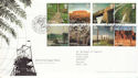 2005-04-21 World Heritage Sites T/House FDC (51708)