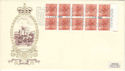 1980-02-04 1.00 Definitive Booklet Windsor FDC (51772)