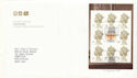 2000-02-15 Special by Design Bklt Pane Earls Court FDC (51786)