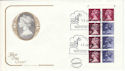 1977-06-13 50p Definitive Booklet Windsor FDC (51792)