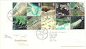 2002-03-19 Coastlines Stamps T/House FDC (51839)