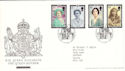 2002-04-25 Queen Mother Stamps T/House FDC (51841)