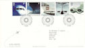 2002-05-02 Airliners Stamps T/House FDC (51842)