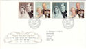 1997-11-13 Golden Wedding Stamps Bureau FDC (51866)