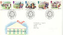 1994-08-02 Summertime Stamps Bureau FDC (51900)
