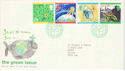 1992-09-15 Green Issue Bureau FDC (51919)